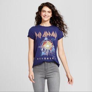 Def Leppard Pyromania Concert Tee NWT